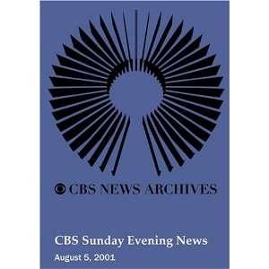 CBS Sunday Evening News (August 05, 2001): Movies & TV