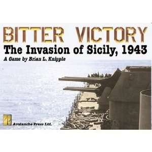 Bitter Victory The Invation of Sicily 1943 Toys & Games