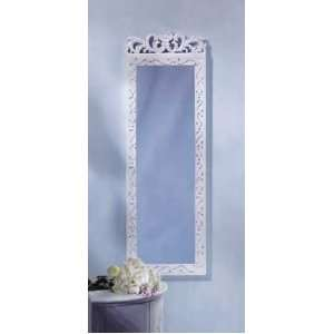 Shabby Chic Wall Mirror Home & Kitchen