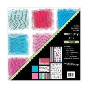 Memory 12 Inch by 12 Inch Page Kit, Friends Arts, Crafts & Sewing