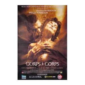 CORPS A CORPS (ROLLED FRENCH) Movie Poster