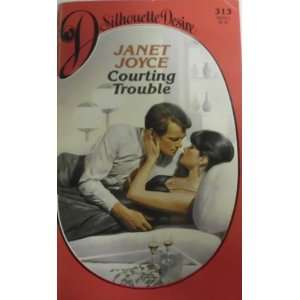 Courting Trouble (Silhouette Desire) (9780373053131