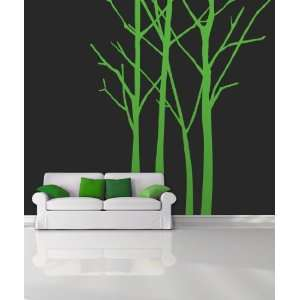 Vinyl Wall Decal Sticker Tall Bare Trees MCrespo114m