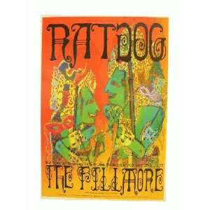 Rat Dog Poster Grateful Dead Fillmore The Ratdog