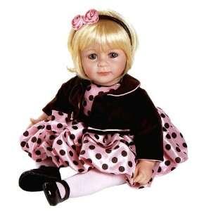 Adora Baby Doll 20 Pink Posh (Light Blond/Blue Eyes) : Toys & Games