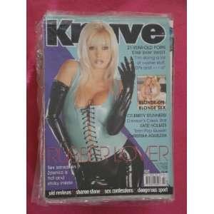 Knave Uk Magazine Vol 32 Issue 2 (RUBBER LOVER) RUTH DAVIS Books