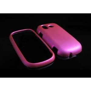 Hot Pink Hard Rubber Feel Faceplate Accessory Case Cover for Samsung