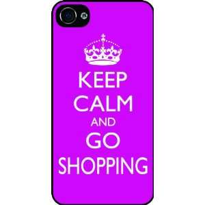 Rikki KnightTM Keep Calm and Go Shopping   Pink Rose Color