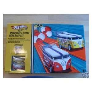 Hot Wheels Classics Snake & Mongoose VW Drag Bus Race Set