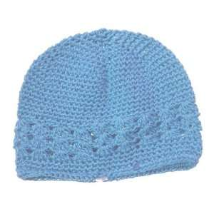 Light Blue Little Girl Kufi Hat: Home & Kitchen