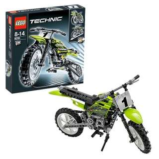 LEGO 8291 Technic Dirt Bike   LEGO   LEGO Technic   Construction Toys