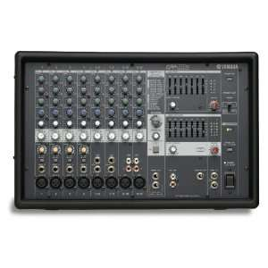 Yamaha EMX512SC 8 Input Powered Mixer with Dual 500 Watt
