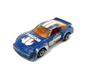 MATCHBOX MACAU MAZDA RX7 1982 RACE CAR TOY *