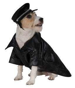 Dog Puppy Apparel Halloween Bad Boy Biker Pet Costume