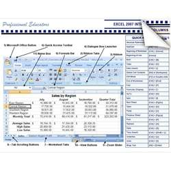 Microsoft MS Excel 2007 Introduction Tip Tips Tricks Cheat Sheet Learn
