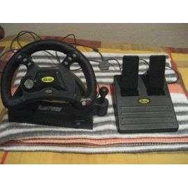 Dual Force Racing Wheel   Volante Con Pedales Para Playstation: compra