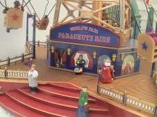 79816 PARACHUTE RIDE WORLDS FAIR MR CHRISTMAS ANIMATED