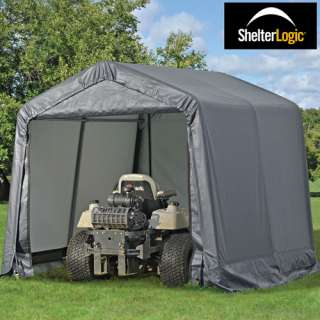 10x10 Shelter Logic Canopy Shed Instant Garage Portable
