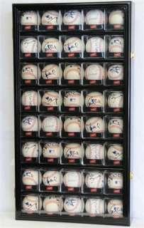 40 Arcylic Cubes Baseball Cabinet Wall Display Case UV