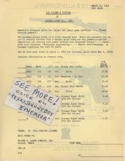 1949 CROSMAN ARMS SILENT AIR RIFLE PISTOL GUN TOY