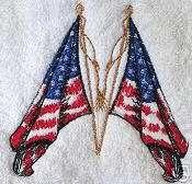 USA towel American Flag towel patriotic 4th of July