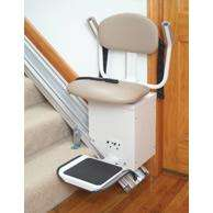 Ameriglide Deluxe DC Powered Stair Lift Call us at 1 800 659 6498