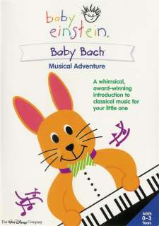Baby Einstein Baby Bach   Musical Adventure   DVD 786936179729