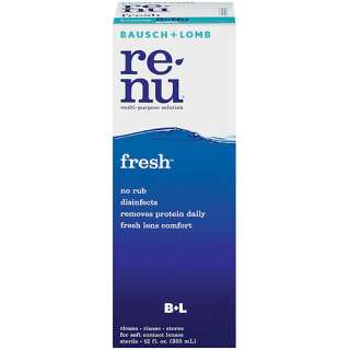 Bausch & Lomb Renu Fresh Multi Purpose Cleaning Solution