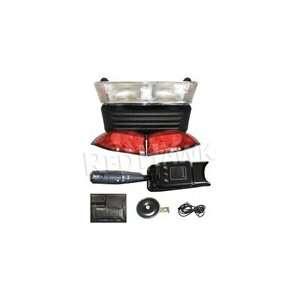 Golf Cart STREET Pkg Light Kit   Electric with 12v Batteries 2008.5