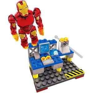 Mega Brands Iron Man 2   Aerial Attack Mark 4 Building