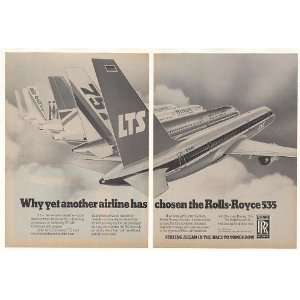 1983 LTS Airlines Boeing 757 Rolls Royce 535 Engine 2 Page
