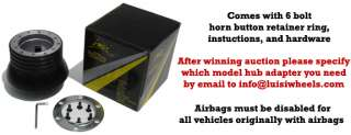 Volanti Luisi Steering Wheel Hub Adapter for Lada