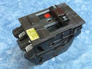 WADSWORTH 60 Amp 120/240 Volt Double Pole Circuit Breaker