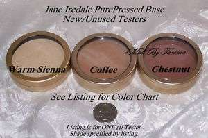 JANE IREDALE PurePressed Base Powder NewTESTER CHESTNUT