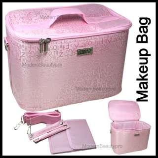 Box Bag Case MAKEUP COSMETIC NAIL ART TECHNICIAN TOOLS   Pink