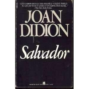 Salvador Joan Didion Books