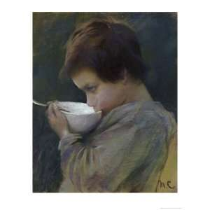 Drinking Giclee Poster Print by Mary Cassatt, 9x12: Home & Kitchen