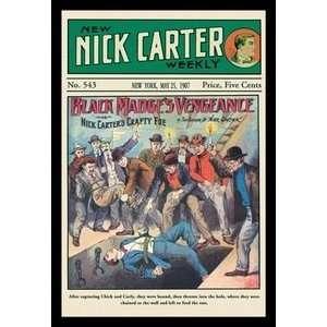 Nick Carter Black Madges Vengeance   Paper Poster (18.75 x 28.5)