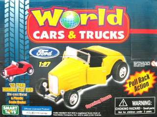 Smart Toys 1932 Ford Highboy Hot Rod Coupe 1/27 White