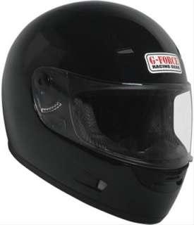 FORCE Z2 Full Face Street Helmet 6500LRGBK Large Black 845917000046