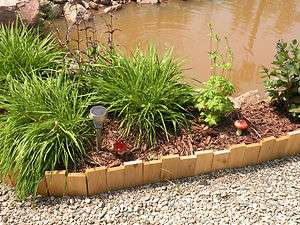 Handcrafted Cedar Yard and Garden Border Edging ***