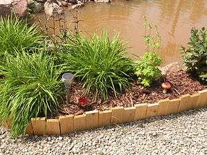 Handcrafted Cedar Yard and Garden Border Edging *** |