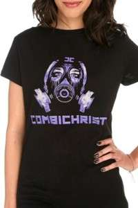 Combichrist Gas Mask Girls Top [NEW] shirt
