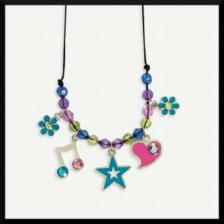 Jewel Charm Necklace Craft Kit ABCraft Kids Girls Party Activity/Favor