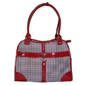 Dog Cat Carrier/Tote Purse Travel Airline Bag  Red Medium Pet