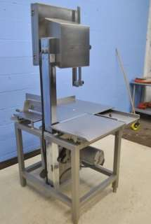 HOBART 5801 VERTICAL COMMERCIAL BUTCHER BAND SAW MEAT SLICER 142 LONG