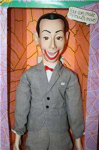 1989 Official Pee Wee Herman 26 Ventriloquist Doll