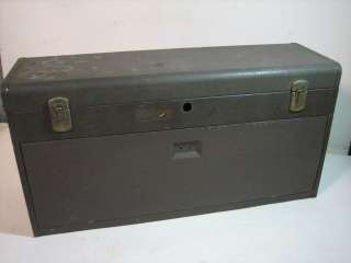 D40) Vintage Kennedy 526 8 Drawer Machinists Tool Box Chest
