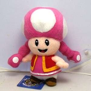 New Nintendo Super Mario Toadette Plush doll Figure