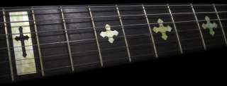 Cross (WS) Fret Markers Inlay Sticker Decal Guitar